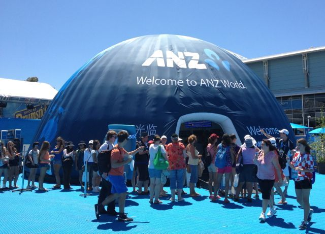 Australian Open - is it for little kids?