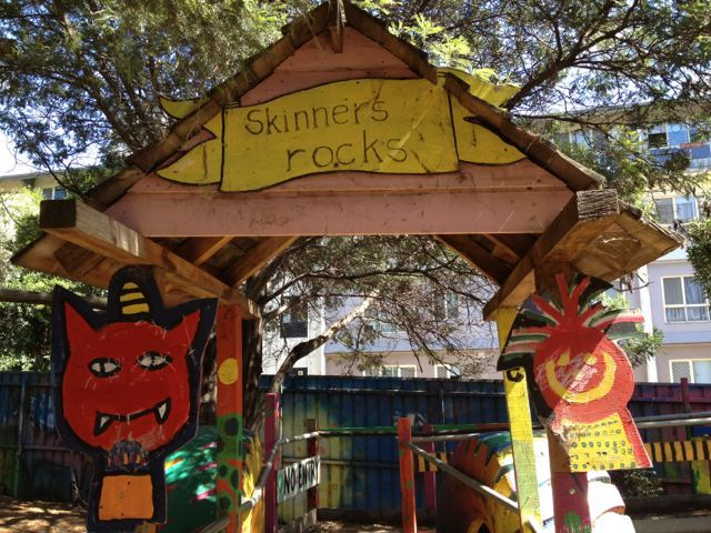 South Melbourne playground - Skinners