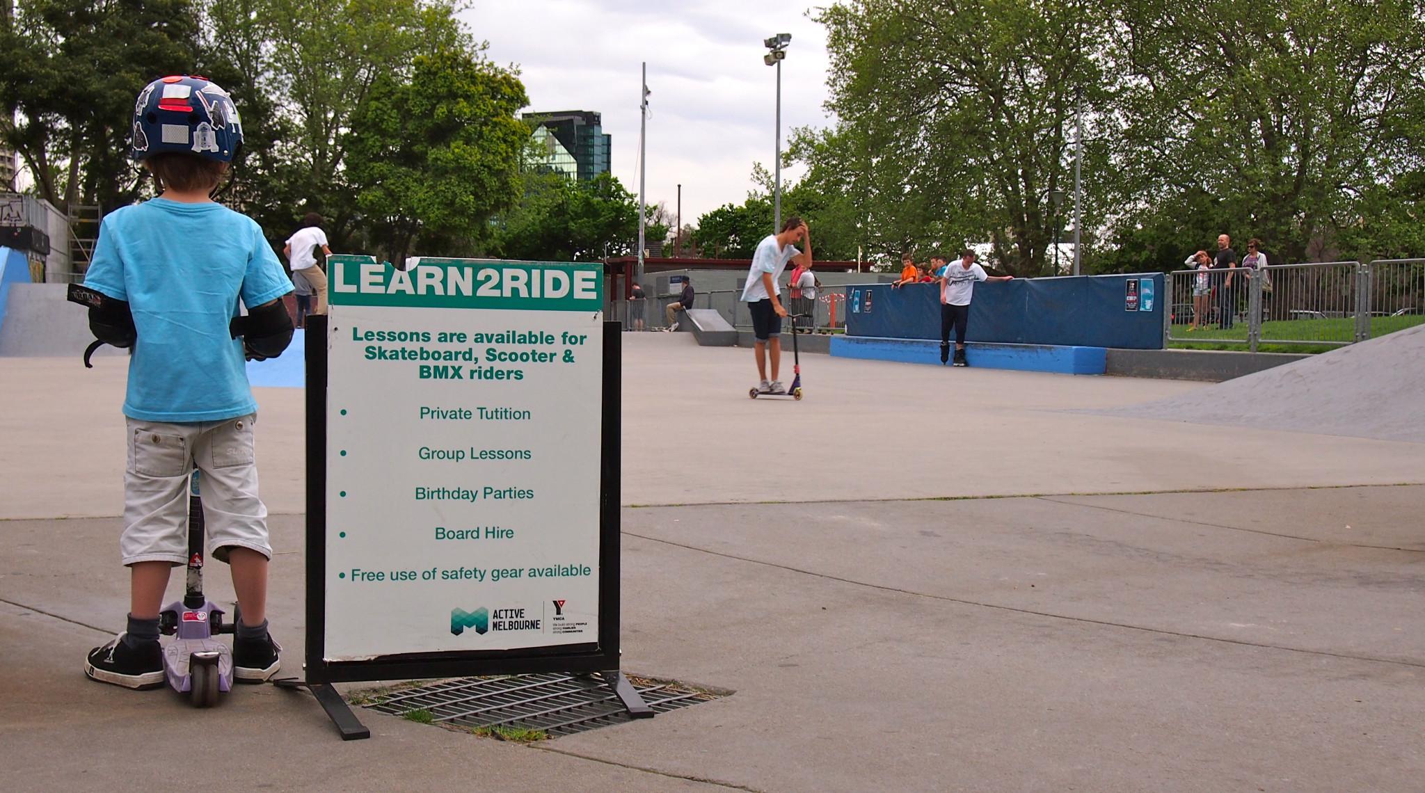 Learn 2 Ride YMCA Riverslide