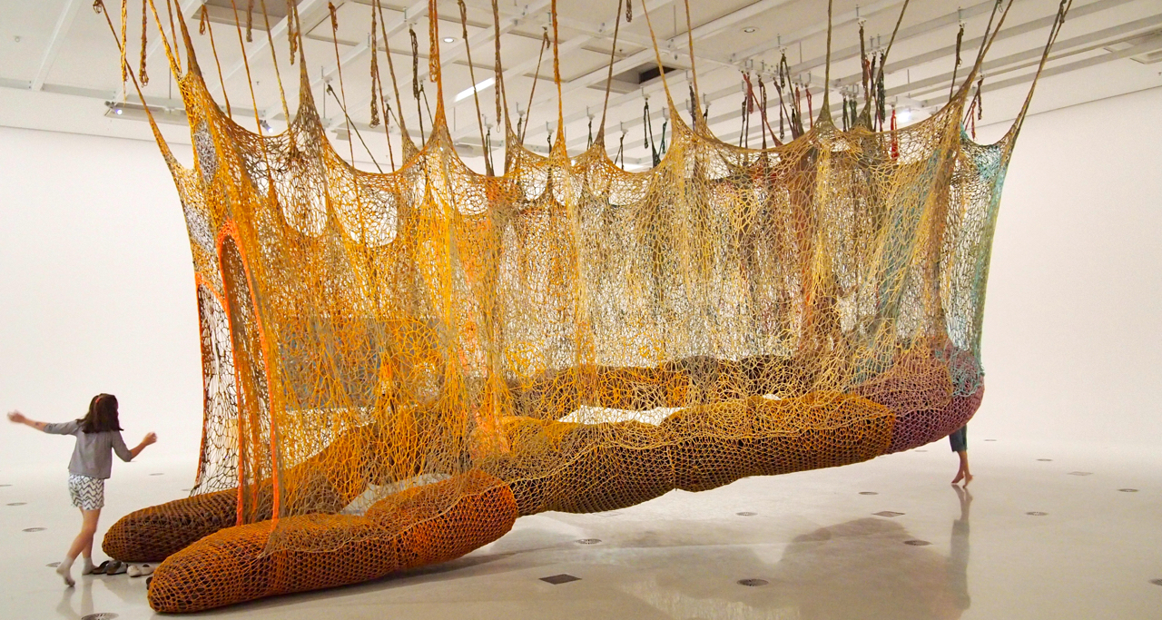 Ernesto Neto The Island Bird Meetoo
