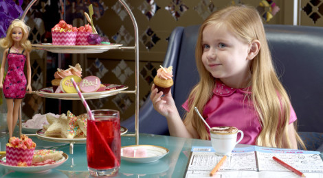 Barbie Power holiday High Tea