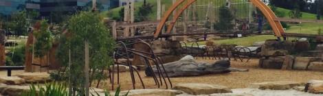 Natureplay playground at Royal Park