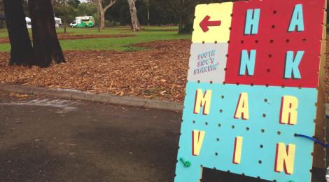 Hank Marvin southside trailer park and farmers market
