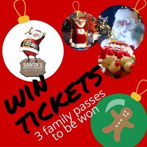 Santa's Magical Kingdom win tickets