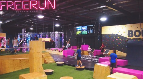 Freerun Terrain Park (Bounce Inc)