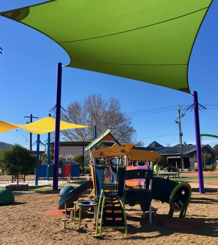 Tamworth regional playground