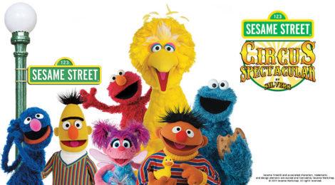 Sesame Street Circus Spectacular giveaway
