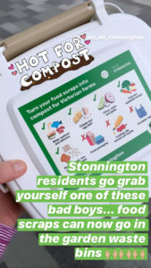 environment compost caddy