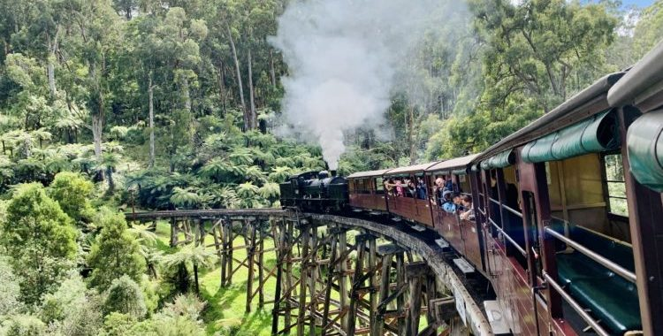 Puffing Billy Menzies Creek Museum